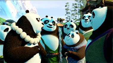 Kun Fu Panda 3 - trailer (or)