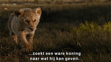 Zie nu de eerste trailer van The Lion King!
