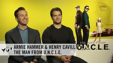 The Man From U.N.C.L.E. - interview