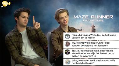 Maze Runner: The Death Cure - vragen van fans