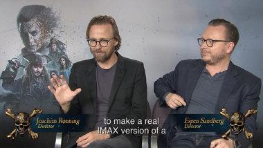 Pirates of the Caribbean: Salazar's Revenge - IMAX featurette regisseurs