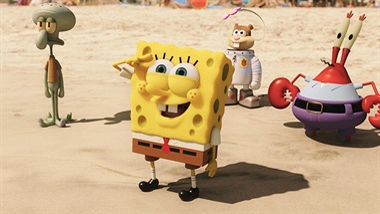 Spongebob 3D: Spons op het Droge (NL) - trailer
