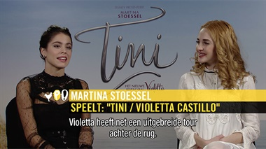 Tini: het nieuwe leven van Violetta - interview