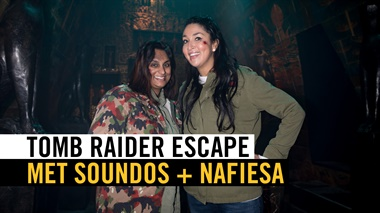 Tomb Raider Escape met Soundos en Nafiesa