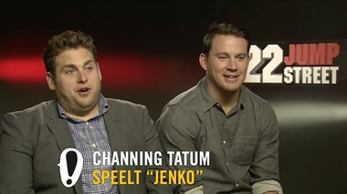 22 Jump Street - interview Channing Tatum & Jonah Hill