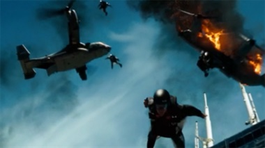 Transformers 3 - Clip: Wingsuit