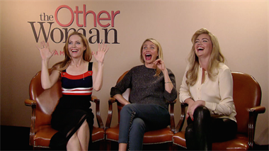 The Other Woman - interviews Cameron Diaz, Leslie Mann & Kate Upton