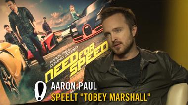 Need for Speed - interview: Aaron Paul, Dominic Cooper, Scott Waugh
