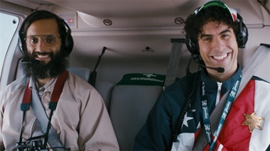 The Dictator - clip - Helicopter