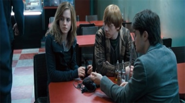Harry Potter - cafe attack