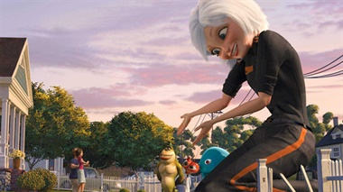 Monsters vs. Aliens - trailers