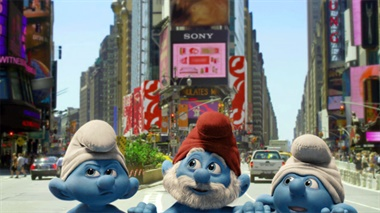 Teaser - The Smurfs