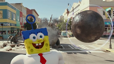 Spongebob 3D: Spons op het Droge (OV) - trailer 2