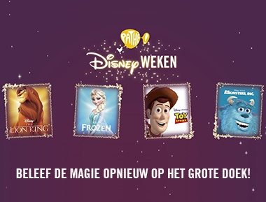 Pathé Disneyweken - info & tickets