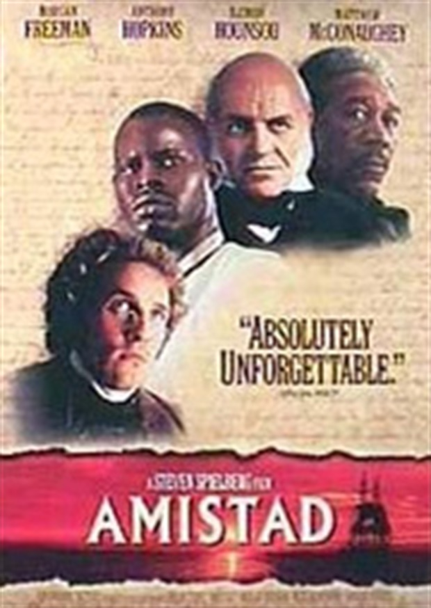 theodore joadson amistad One scene in particular, where the prisoners of the amistad,  morgan freeman  as theodore joadson is a black man in america – the same as.