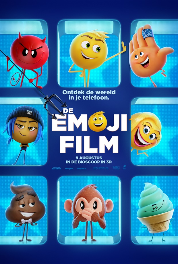 De Emoji Film Nederlandse Versie Trailer Reviews