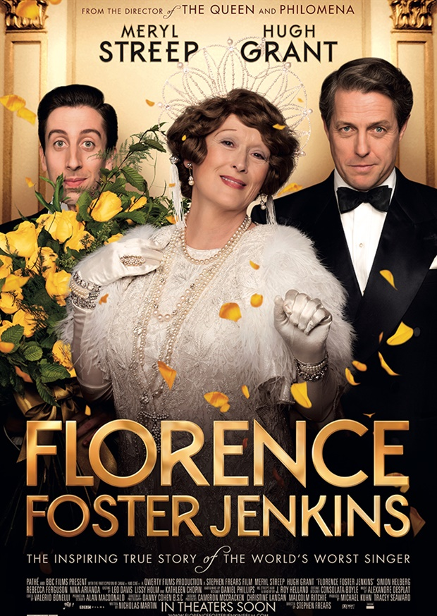 Florence Foster Jenkins - poster