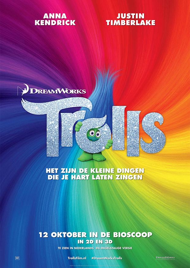 Trolls 3D NL