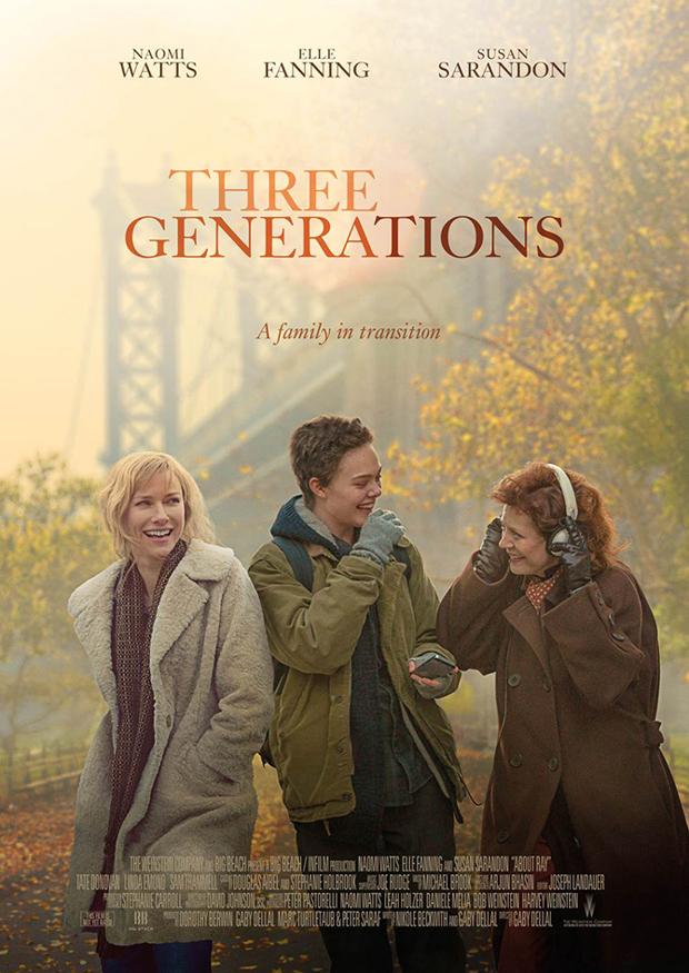 Kuvahaun tulos haulle three generations poster