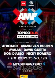 AMF presents Top 100 DJ Mag Awards