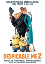 Despicable Me 2 poster 1