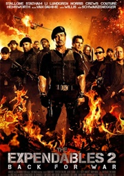 The Expendables 2 poster 3