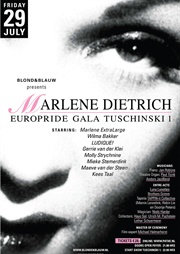 Europride GALA Homage Marlene Dietrich