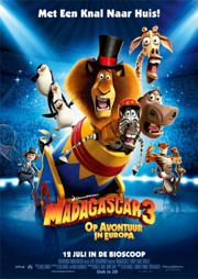 Madagascar 3 NL poster 2
