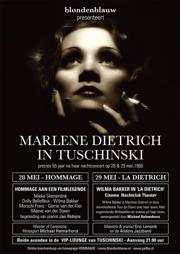 Hommage aan Marlene Dietrich