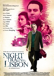 Night train to Lisbon poster 1