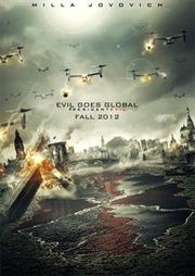 Resident Evil Retribution poster 2