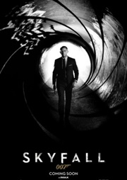 Skyfall James Bond poster 3
