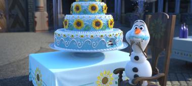 Korte animatiefilm 'Frozen Fever' te zien voor Cinderella