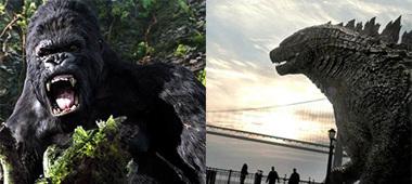 Filmgevecht King Kong vs. Godzilla op de agenda