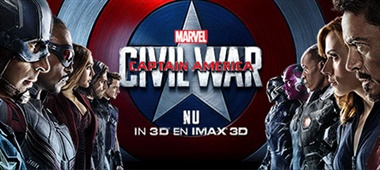 Pathé Quiz – Captain America: Civil War – aan wiens kant sta jij?