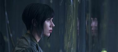 Scarlett Johansson in eerste still Ghost in the Shell