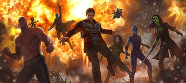 Nieuw artwork van Guardians of the Galaxy Vol. 2