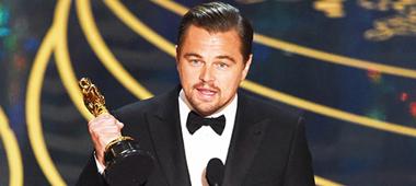 Leonardo DiCaprio wint Oscar voor The Revenant!