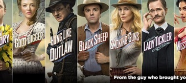Characterposters – A Million Ways to Die in the West (Seth MacFarlane)