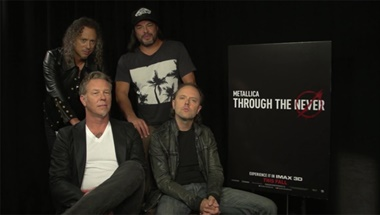 Metallica: Through the Never - IMAX Shout Out