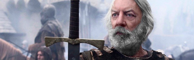 Background Donald Sutherland